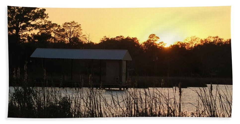 Mississippi Hand Towel featuring the photograph Mississippi Bayou 9 by Michelle Powell