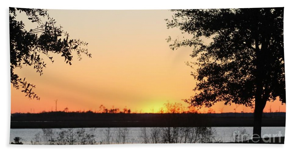 Mississippi Bath Sheet featuring the photograph Mississippi Sunset 11 by Michelle Powell