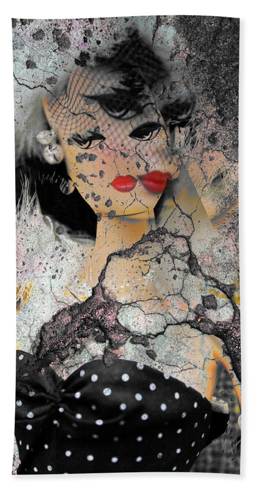Portraits Hand Towel featuring the photograph Mistreatment Of A Madam  by The Artist Project