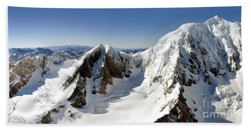 New Zealand Hand Towel featuring the photograph Mount Cook by Delphimages Photo Creations