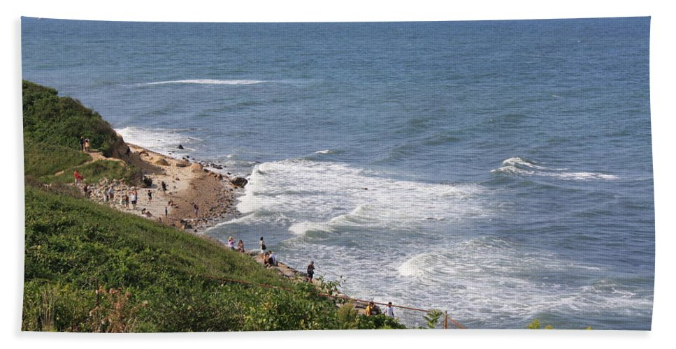 Landscapes - Montauk Point - Long Island Bath Sheet featuring the photograph Montauk Pt. Long Island by Dora Sofia Caputo Photographic Design and Fine Art