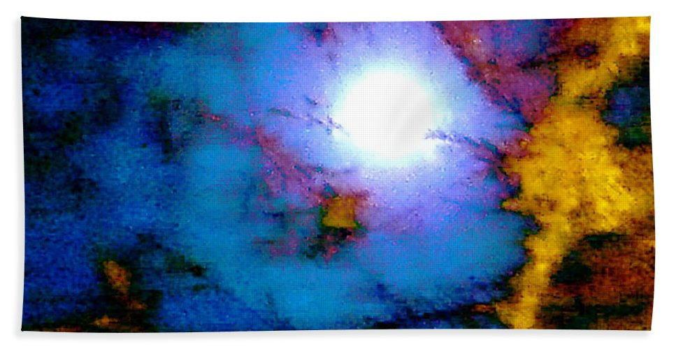 Moon Bath Sheet featuring the photograph Moods Of The Moon by Jerome Stumphauzer