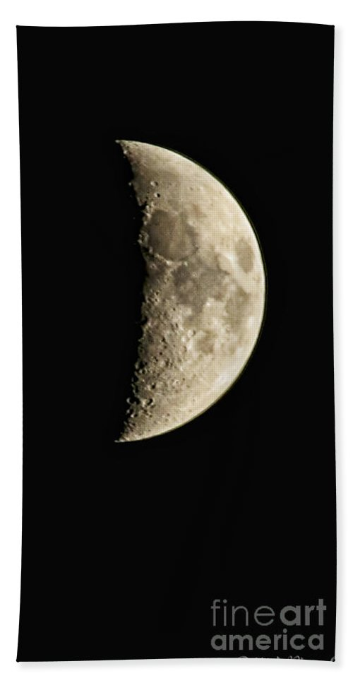 Moon Bath Sheet featuring the photograph Moon II by Debbie Portwood