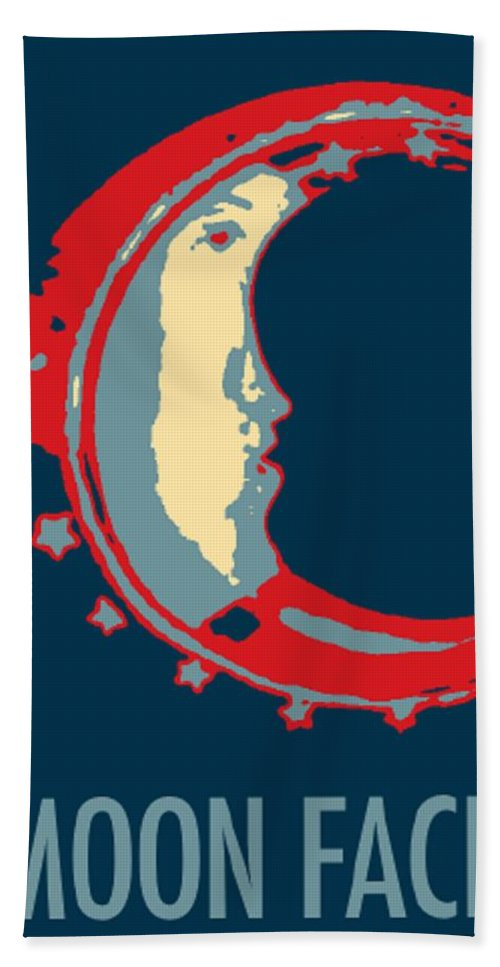Modern Hand Towel featuring the photograph Moon Phase In Hope by Rob Hans