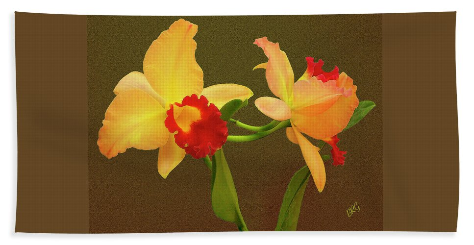 Orchid Bath Sheet featuring the photograph Moonlight Lady Orchid by Ben and Raisa Gertsberg