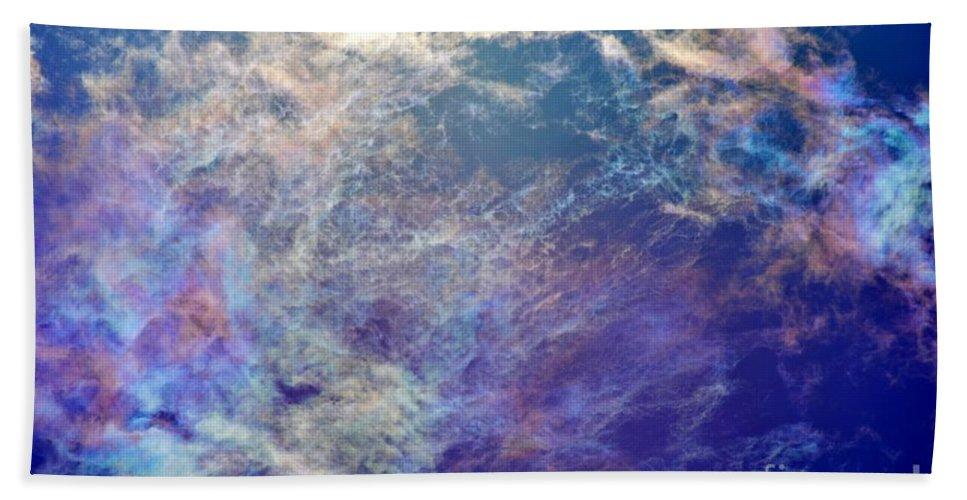 Sky Bath Sheet featuring the photograph Morning Bright by Tamara Michael
