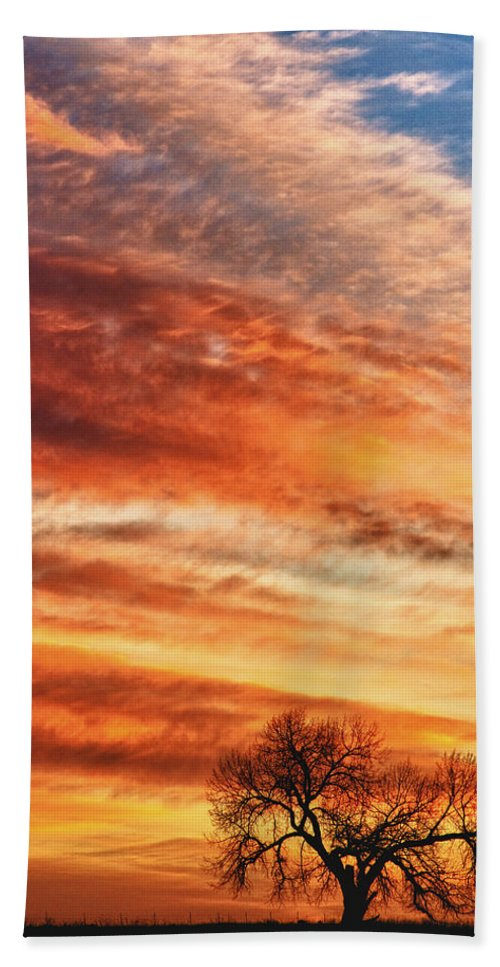 Sunrises Bath Sheet featuring the photograph Morning Has Broken by James BO Insogna
