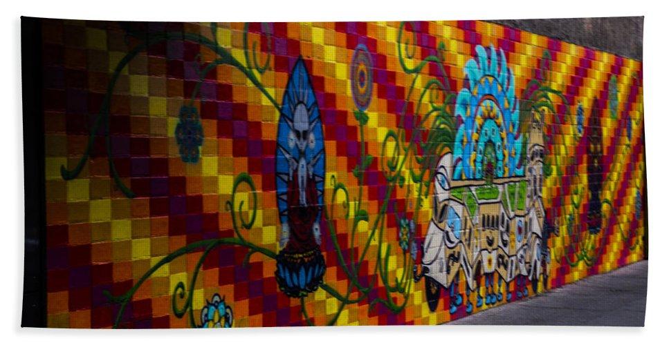 Nevada Hand Towel featuring the photograph Mosaic by Angus Hooper Iii