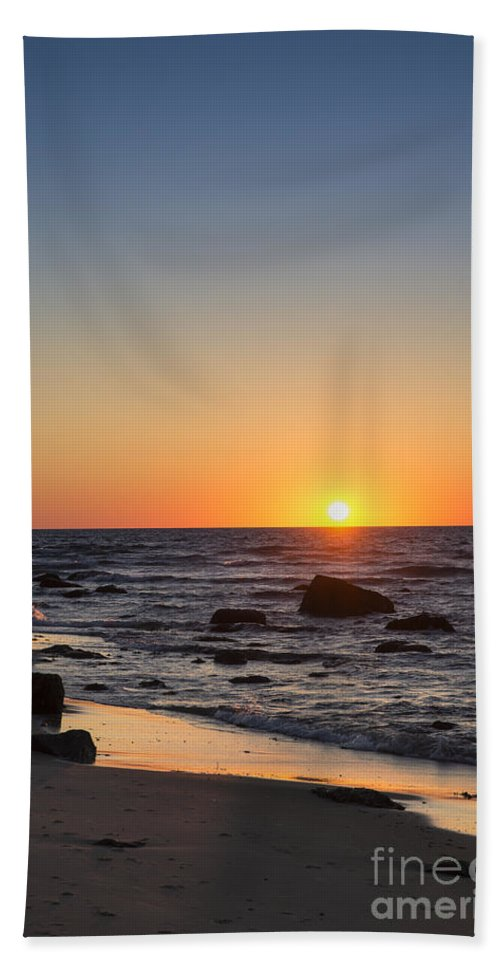 America Bath Sheet featuring the photograph Moshup Beach Sunrise by John Greim