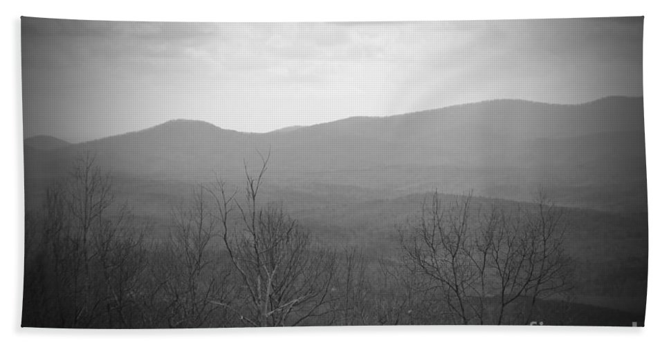Amicalola Bath Sheet featuring the photograph Mountain Grey by Jost Houk