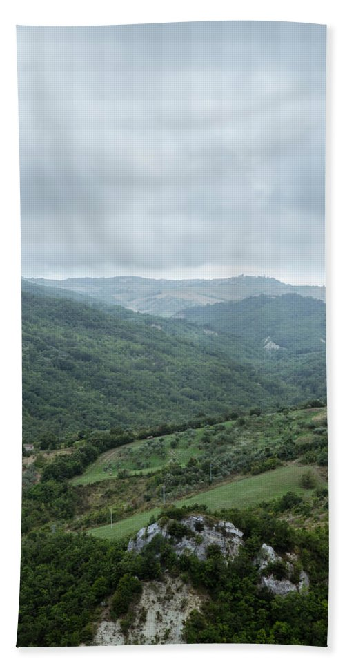 Landscape Hand Towel featuring the photograph Mountain Landscape Of Italy by Andrea Mazzocchetti
