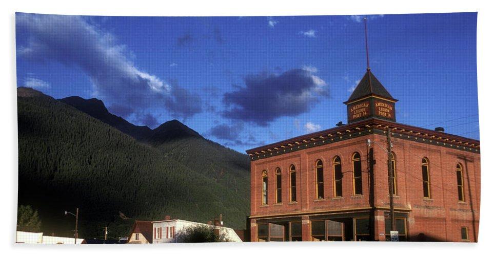 Colorado Bath Sheet featuring the photograph Mountain Village by Scott Warren