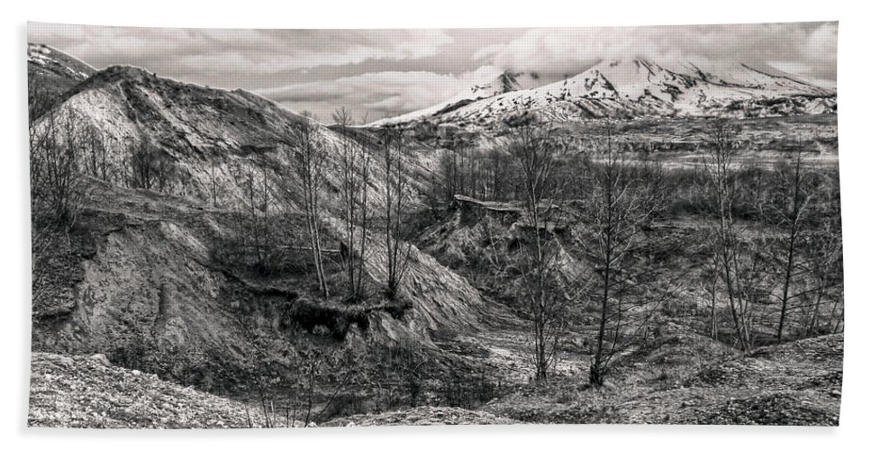 Mount Hand Towel featuring the photograph Mt. St. Helen's by Anna Burdette