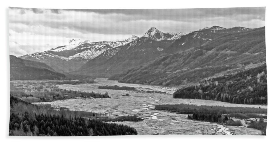 Mount Hand Towel featuring the photograph Mt. St. Helen's National Park by Anna Burdette