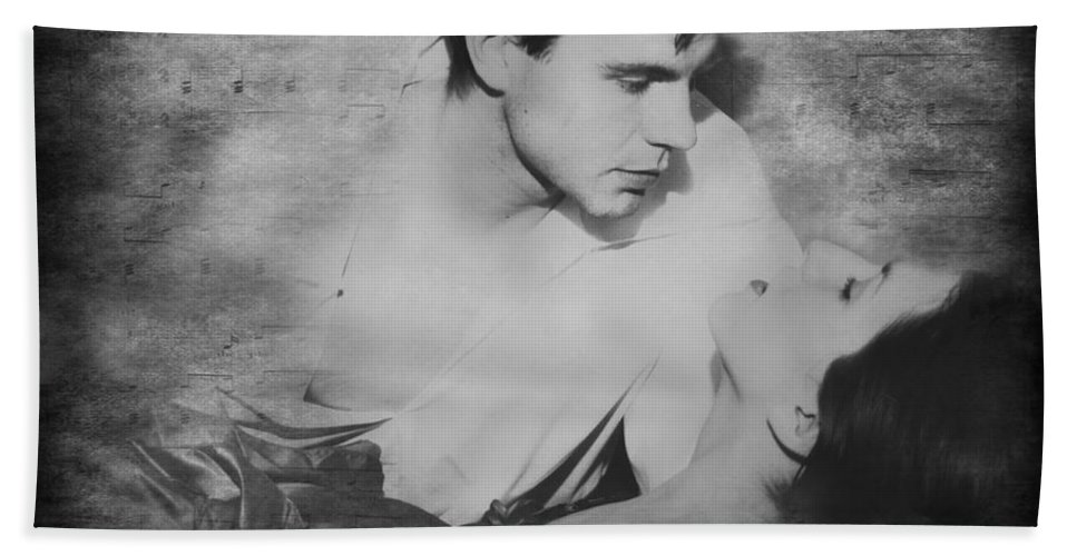 Love Bath Sheet featuring the photograph Music Of The Night by Diana Haronis
