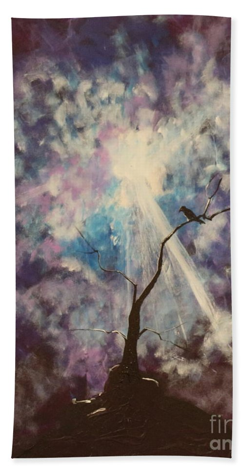 Impressionism Hand Towel featuring the painting My Dream Shall Come by Stefan Duncan