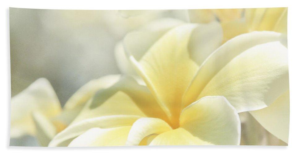 Plumeria Bath Towel featuring the photograph Na Lei Pua Melia Aloha E Ko Lele by Sharon Mau