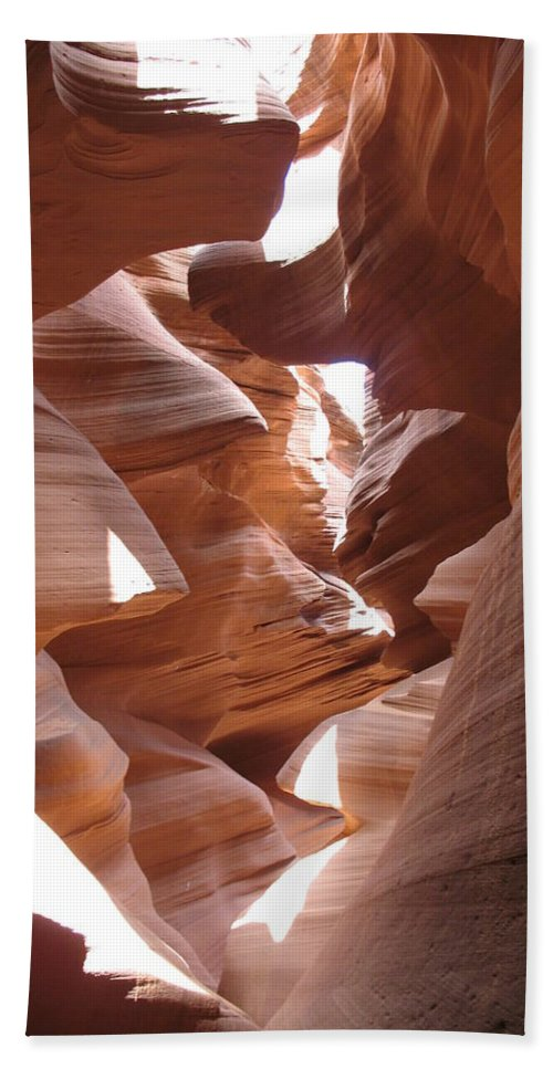 Canyon Hand Towel featuring the photograph Narrow Canyon I by Christiane Schulze Art And Photography
