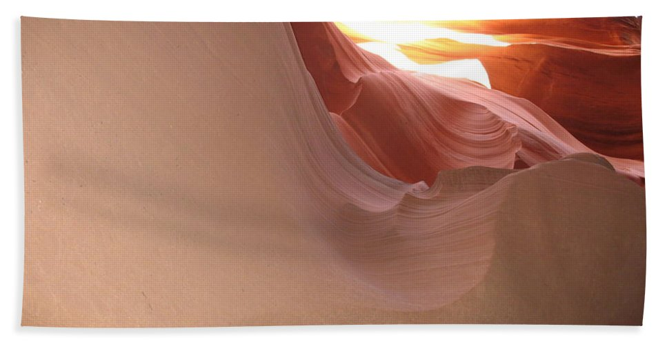 Canyon Bath Sheet featuring the photograph Narrow Canyon Vii by Christiane Schulze Art And Photography