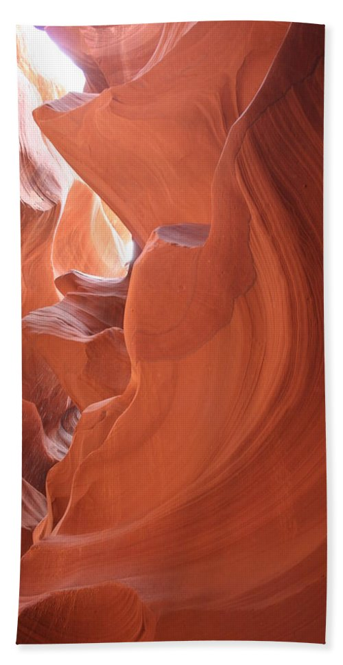 Canyon Hand Towel featuring the photograph Narrow Canyon Xi by Christiane Schulze Art And Photography