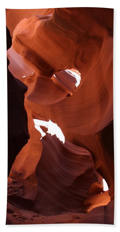 Canyon Hand Towel featuring the photograph Narrow Canyon Xiv by Christiane Schulze Art And Photography