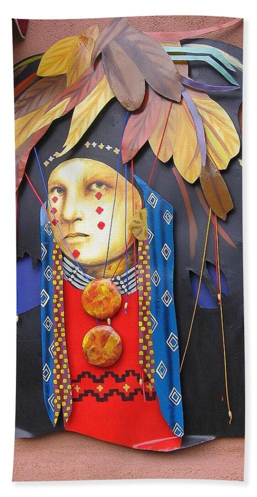 Native American Bath Sheet featuring the photograph Native American Artwork by Dora Sofia Caputo Photographic Design and Fine Art