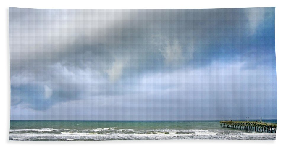 Topsail Bath Sheet featuring the photograph Nature At Its Best by Betsy Knapp