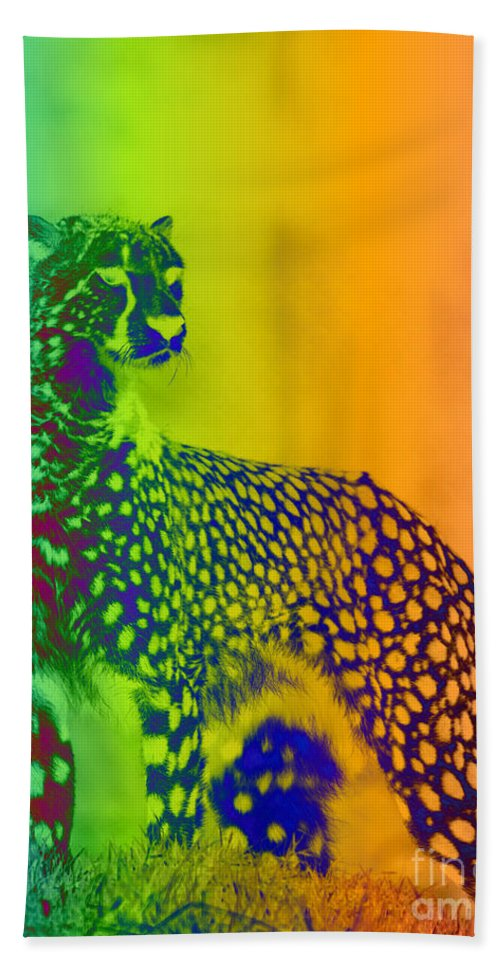Art Hand Towel featuring the digital art Nature by One Ironaut