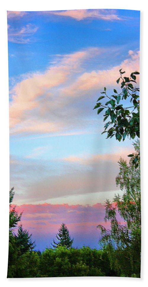 Washington State Bath Sheet featuring the photograph Nature Palette by Kristin Elmquist