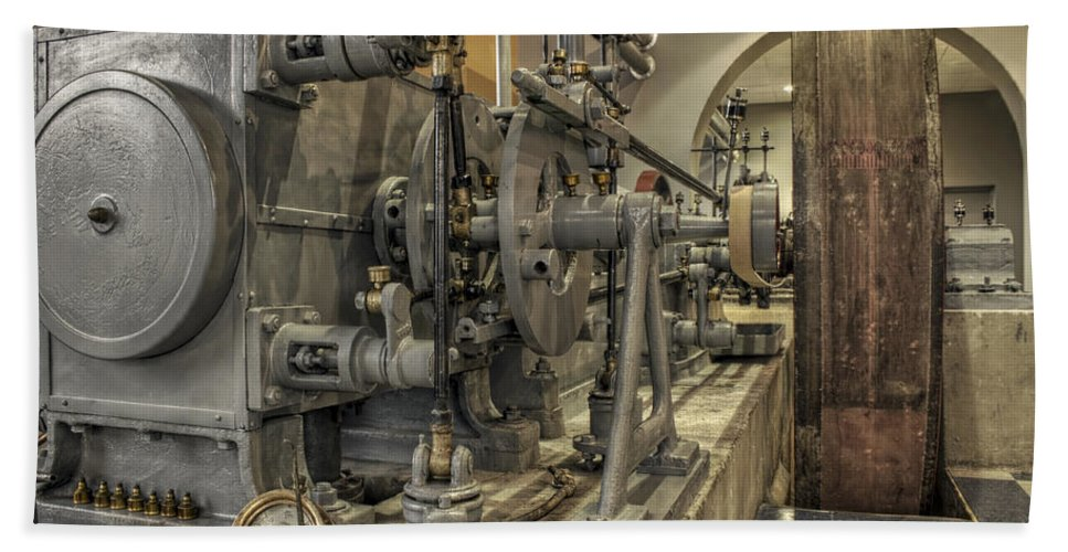 Steampunk Bath Sheet featuring the photograph Necessity Is The Mother Of Invention by Jason Politte