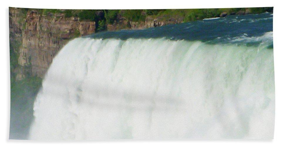 Niagara Falls Bath Sheet featuring the photograph Niagara Falls 5 by Aimee L Maher ALM GALLERY