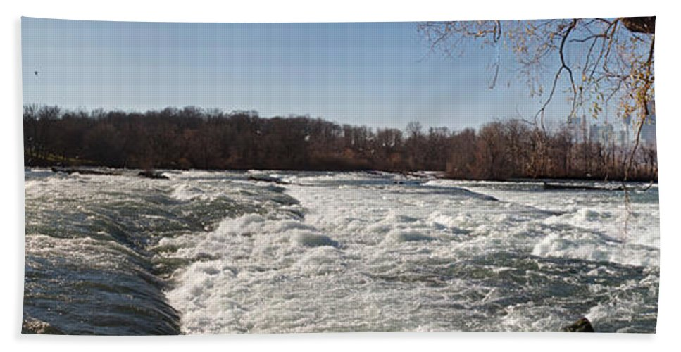 Rapids Hand Towel featuring the photograph Niagara Rapids by William Norton