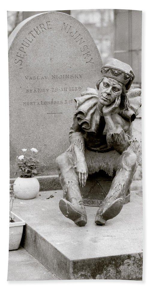 Ballet Bath Sheet featuring the photograph Nijinsky In Paris by Shaun Higson