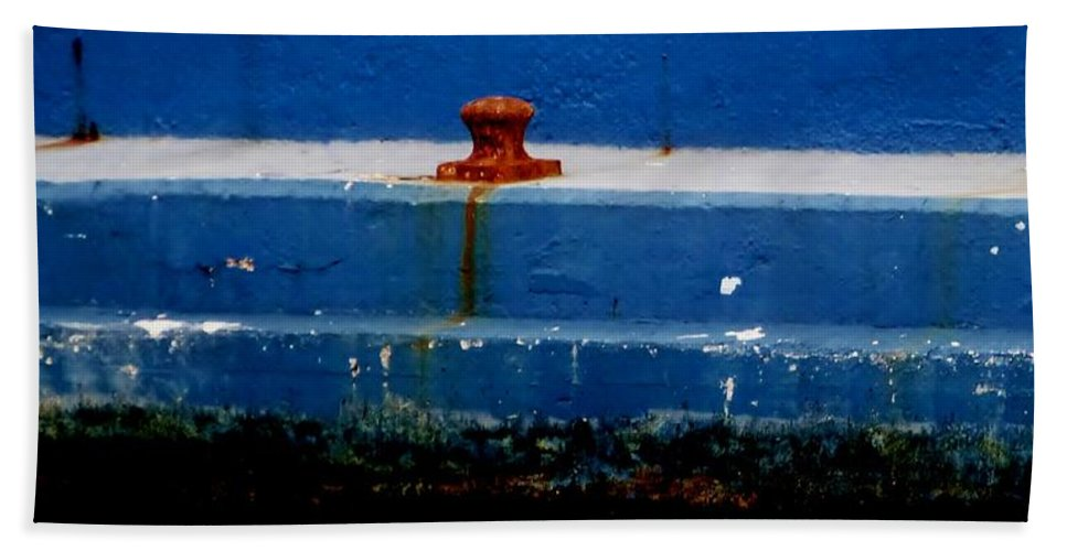 Color Bath Sheet featuring the photograph No Wake Zone by Amar Sheow