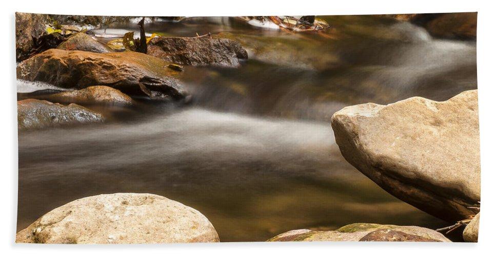 Sedona Bath Sheet featuring the photograph Oak Creek 2 by Larry White