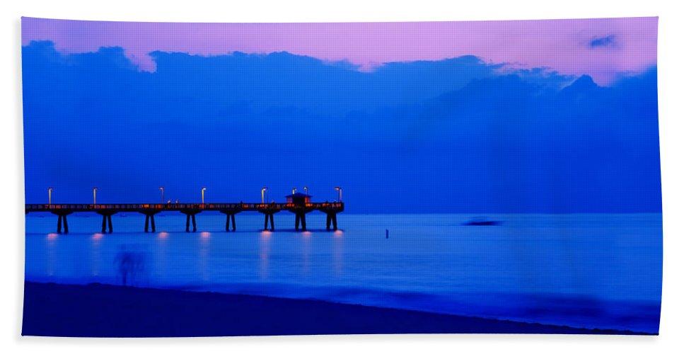 Atlantic Ocean Bath Sheet featuring the photograph Ocean Blue by Thomas Levine