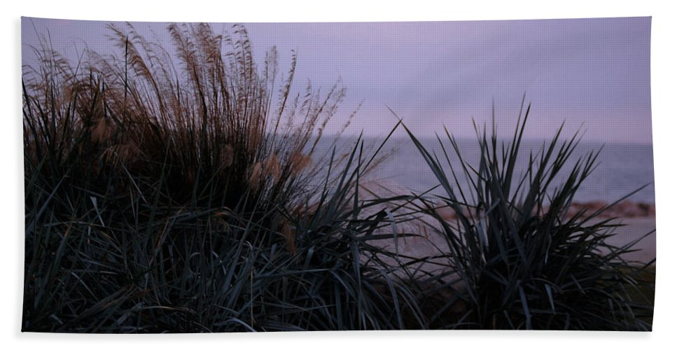 Plant Bath Sheet featuring the photograph Ocean Side by Leticia Latocki