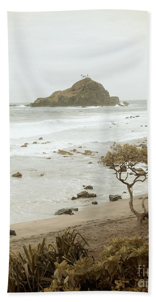 Photography Hand Towel featuring the photograph Ocean Walk by Jackie Farnsworth