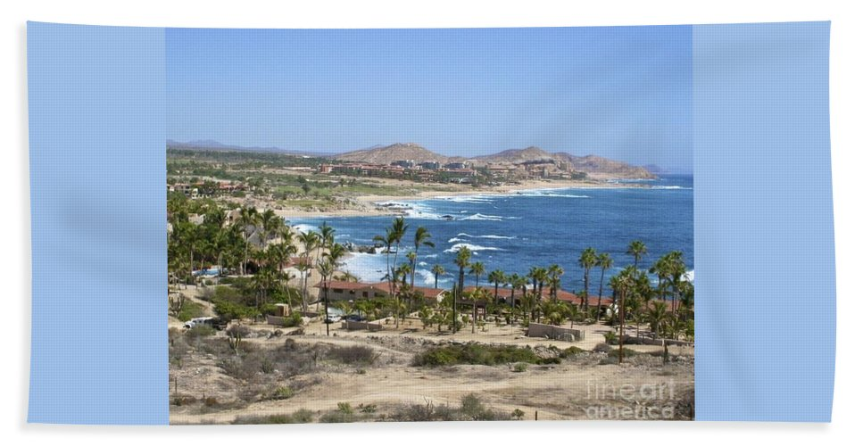 Ocean Hand Towel featuring the photograph Oceanfront Relaxation by Christy Gendalia