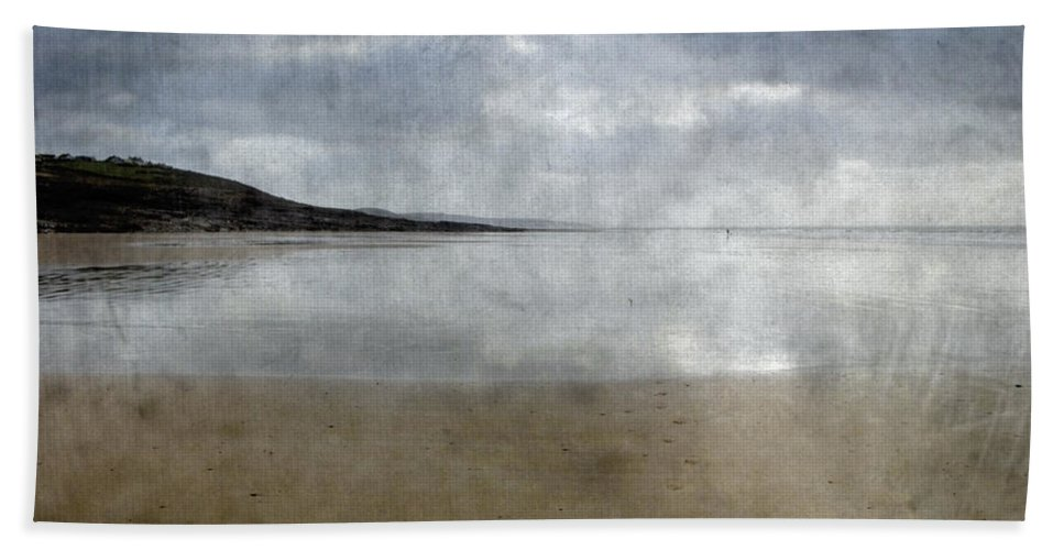 Beach Hand Towel featuring the photograph Ogmore Beach by Kevin Round