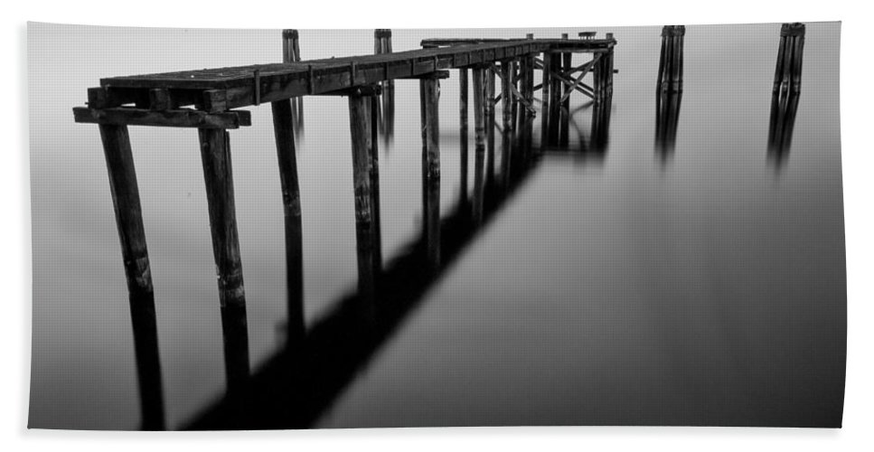 Florida Hand Towel featuring the photograph Old Dock by Stefan Mazzola