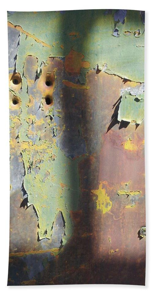 Street Art Hand Towel featuring the photograph Old Door by Zac AlleyWalker Lowing