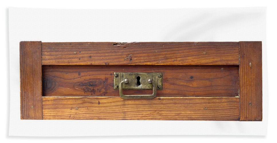 Damper Bath Sheet featuring the photograph Old Drawer by Michal Boubin
