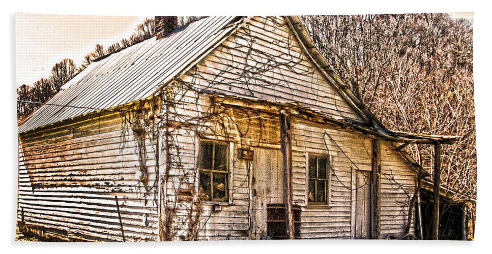 Old Store Hand Towel featuring the photograph Old Kentucky Store Long Gone by Randall Branham