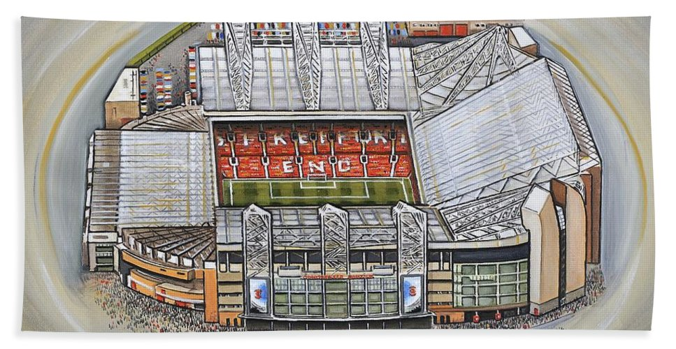 715e25bbf Old Trafford - Manchester United Hand Towel for Sale by D J Rogers