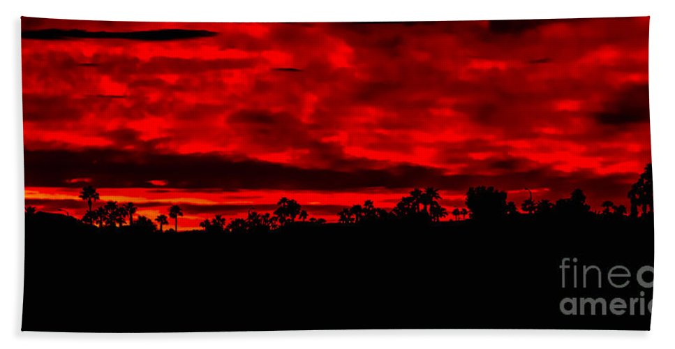 Sunrise Bath Sheet featuring the photograph Once Again by Robert Bales