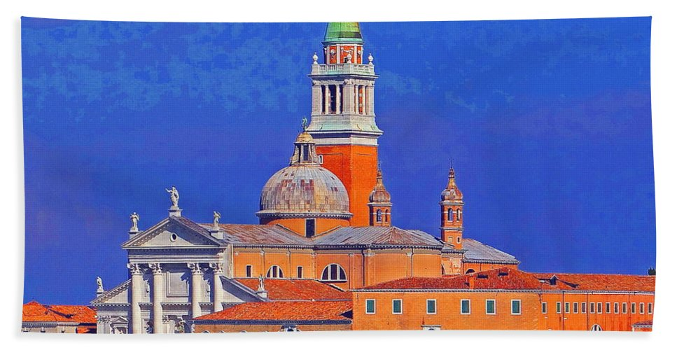 Venice Hand Towel featuring the photograph Once Upon A City by Ira Shander