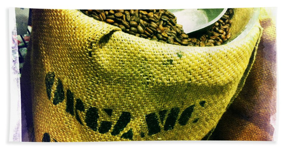 Coffee Hand Towel featuring the photograph Organic Coffee by Nina Prommer