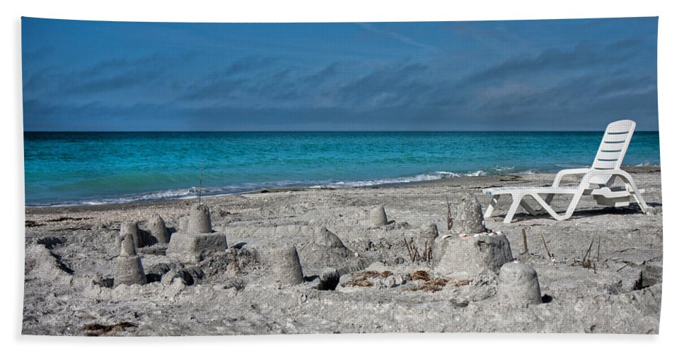 Longboat Bath Sheet featuring the photograph Out For Lunch by Betsy Knapp