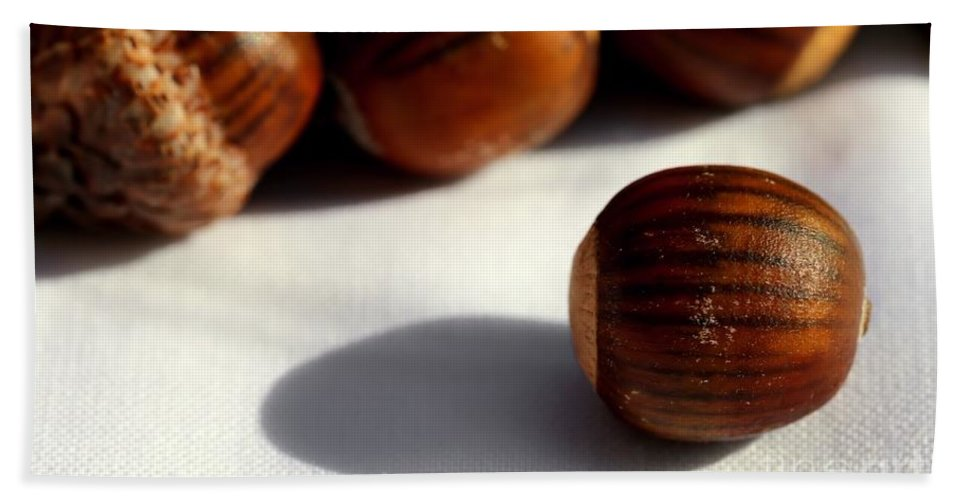 Acorn Bath Sheet featuring the photograph Out Of Many - One by Kenny Glotfelty